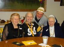 2011-02-05 Sr. Audrey, Mom, Larry & Janie