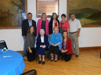2014-10-26 Sr. Audrey with Funkhouser Family