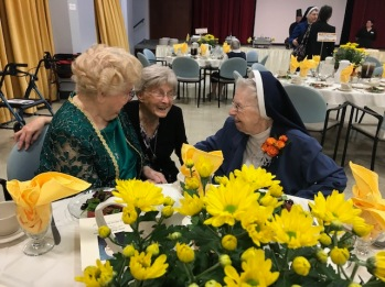 Sister Audrey with Sister Marise and Mom