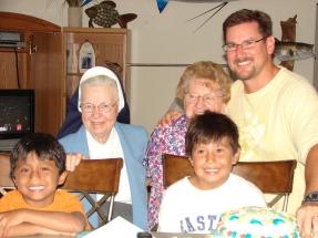 SisterAudrey 2010 with nephews