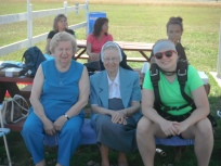 SisterAudrey 2012 Skydiving Support for nieces 2