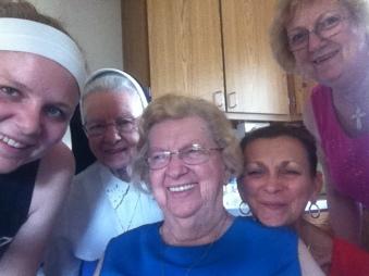 SisterAudrey 2014 Selfie fun with family