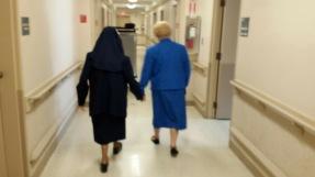 SisterAudrey with Josephine to see Miss Vandenberg