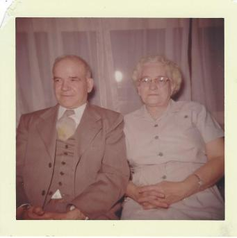 Sr. Midge's father and mother